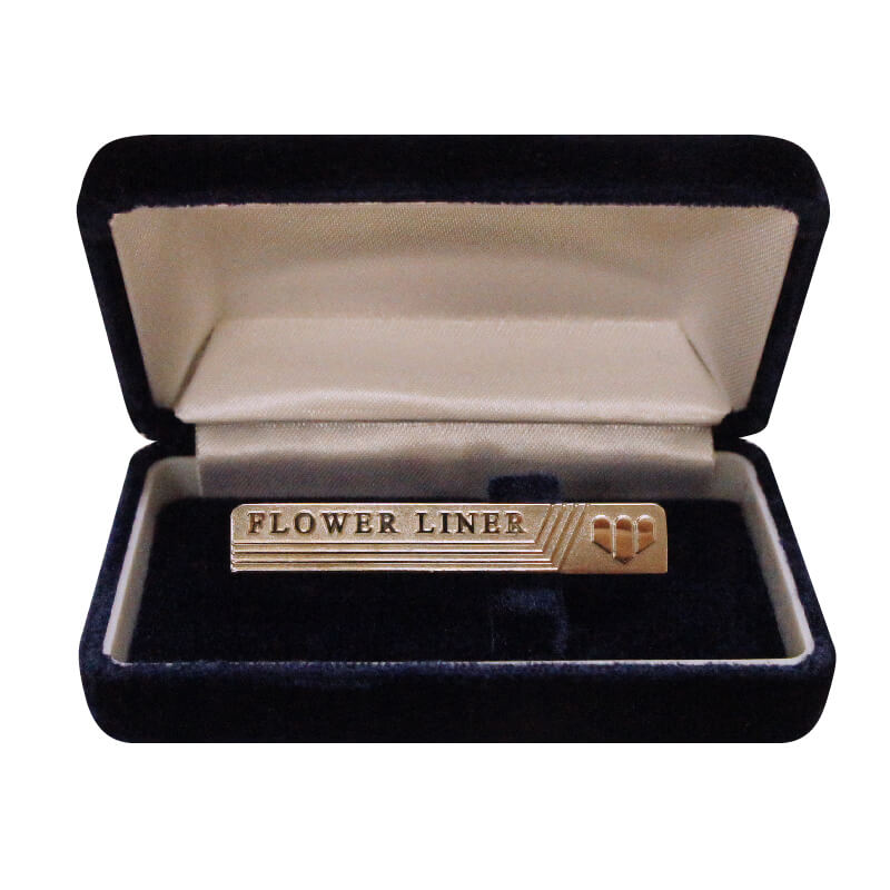 Reprinted version Flower liner tie pinイメージ