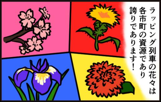 それぞれのお花2