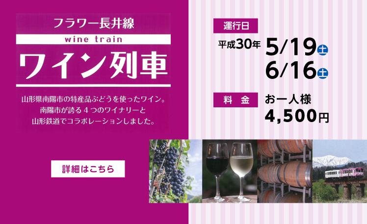 葡萄酒火車2018年