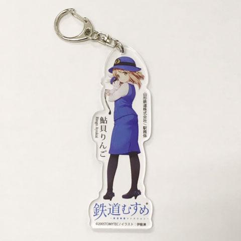 Ayukai Ringo Acrylic Key Holderイメージ