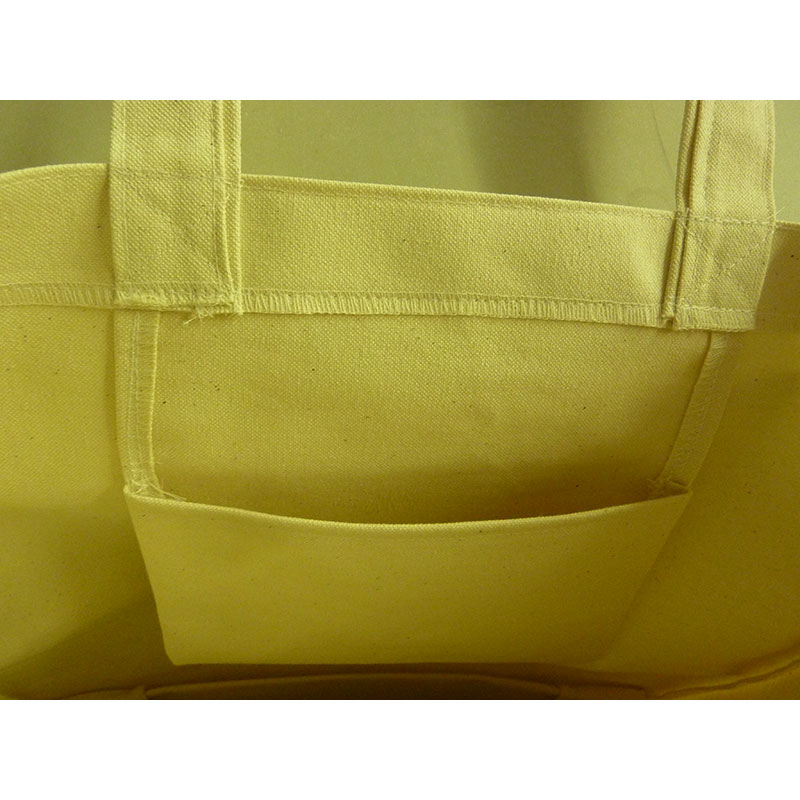 山形鉄道オリジナルトートバッグ-内ポケット付イメージ3