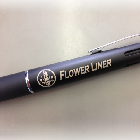 100th anniversary ballpoint pen (with laser engraving)イメージ
