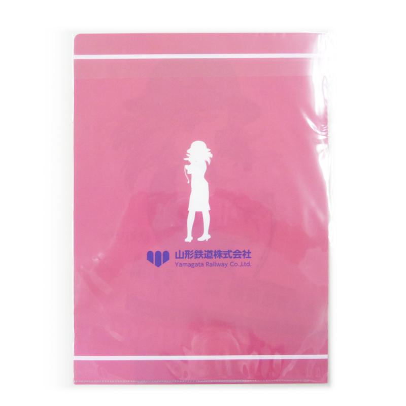 "【Tetsudo Musume】 Ayukai Ringo Clear file ""Sakura"" A4 fileイメージ2"