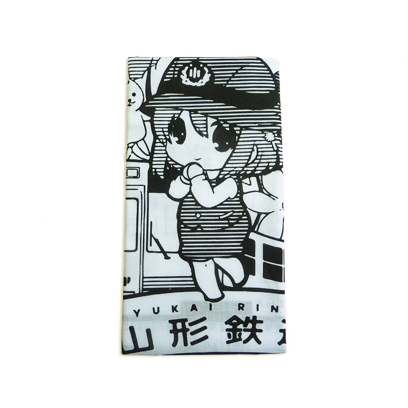"Ayukai Ringo ""Ticket Pattern"" Towelイメージ2"