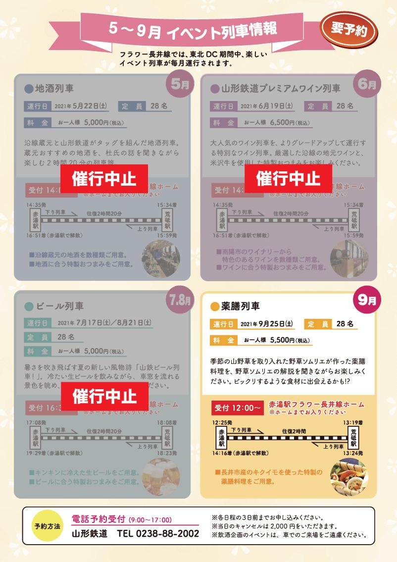 新長井駅開業イベント&イベント列車情報2021(5月〜9月)pdf3